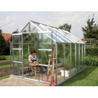 VITAVIA URANUS skleník 9900 matné sklo 4 mm stříbrný