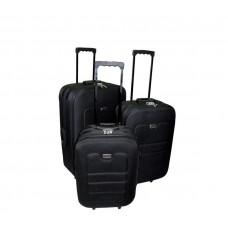 Linder Exclusiv EVA cestovní kufry MC3030 S,M,L - Černý Preview