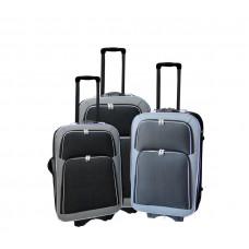 Linder Exclusiv EVA 2 cestovní kufry MC3029 S,M,L - Antracit/červený Preview