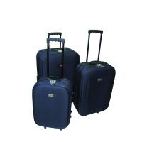 Linder Exclusiv EVA cestovní kufry MC3029 S,M,L - Modrý
