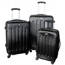 Linder Exclusiv LUXURY MC3003 Cestovní kufry S,M,L - černé Preview
