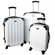 Linder Exclusiv LUXURY MC3053 Cestovní kufry S,M,L - bílé Preview