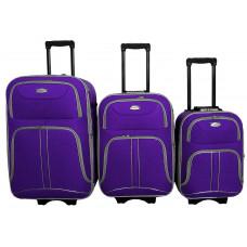 Linder Exclusiv COMFORT COLORS cestovní kufry MC3050 S,M,L - Fialový Preview