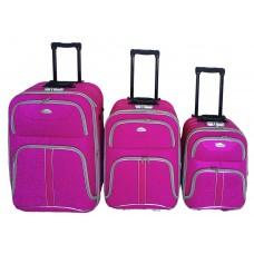 Linder Exclusiv COMFORT COLORS cestovní kufry MC3049 S,M,L - Pink Preview