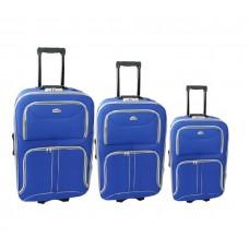 Linder Exclusiv COMFORT COLORS cestovní kufry MC3063 S,M,L - Modrý Preview