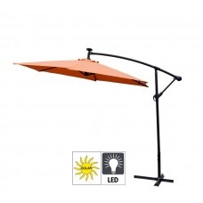 Aga Zahradní slunečník konzolový EXCLUSIV LED 300 cm Orange Preview