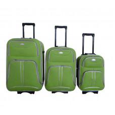 Linder Exclusiv COMFORT COLORS cestovní kufry MC3049 S,M,L - Zelený Preview