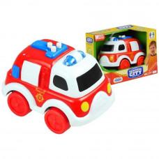 Inlea4Fun malé hasičské auto se zvukovými a světelnými efekty Preview