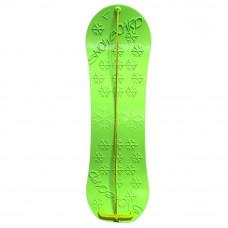Inlea4Fun dětský plastový snowboard zelený Preview