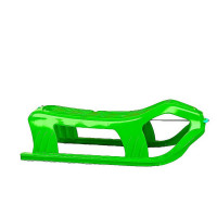 Inlea4Fun dvoumístné sáňky SNOW zelené