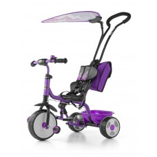 Detská trojkolka Milly Mally Boby Delux 2015 purple Preview