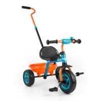 Dětská tříkolka Milly Mally Boby TURBO - oranžová