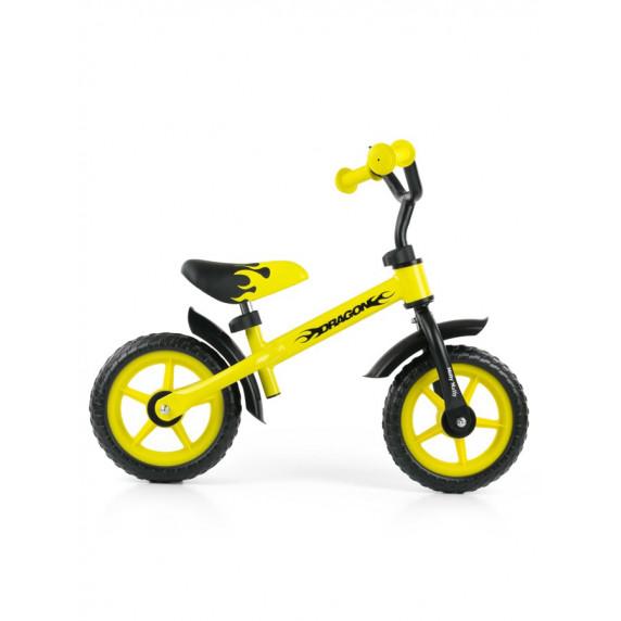 Dětské cykloodrážedlo Milly Mally Dragon 10 '- žluté