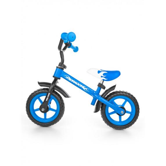 Dětské cykloodrážedlo Milly Mally Dragon 10 '- modré