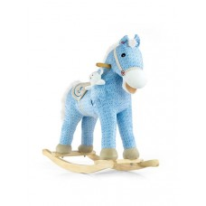 Milly Mally Houpací koník Pony modrý Preview