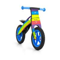 Dětské dřevěné cykloodrážedlo Milly Mally King Rainbow 12 '