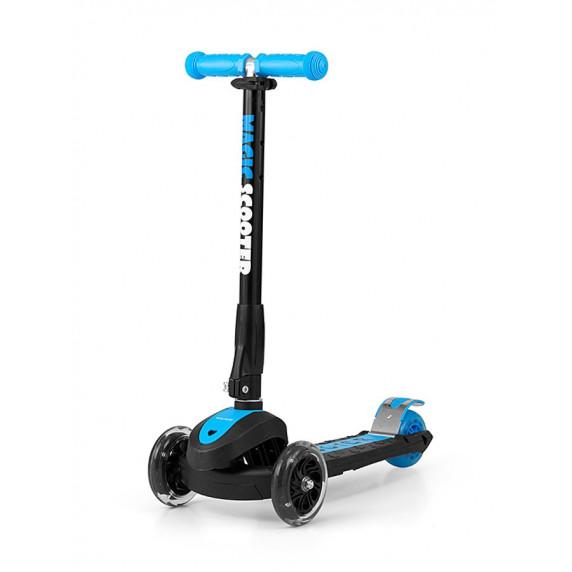 Dětská koloběžka Milly Mally Magic Scooter modrá