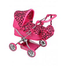 Dětský kočárek pro panenky Play TO Viola růžový Preview