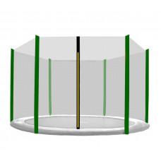 Aga Ochranná síť 305 cm na 6 tyčí - čierna - tmavozelená Preview