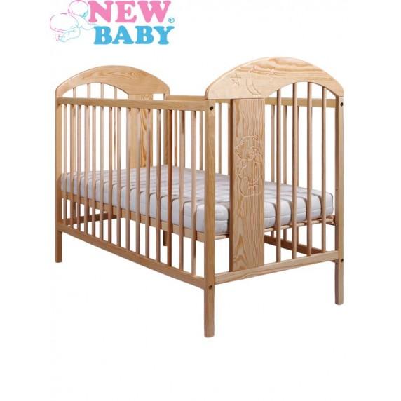 Dětská postýlka New Baby Adam - přírodní