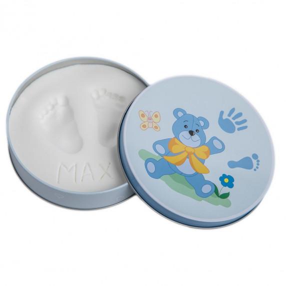 Sada na dětský otisk Baby HandPrint - modrá