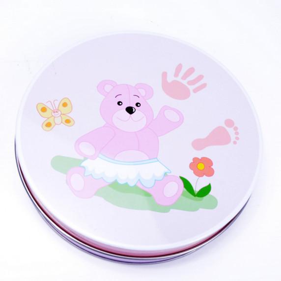 Sada na dětský otisk Inlea4Fun - růžová
