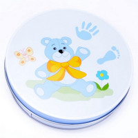 Sada na dětský otisk Inlea4Fun - modrá