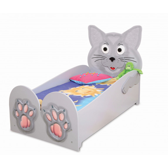 Dětská postýlka Inlea4Fun Kočička - velká