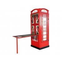 Telefonní budka - Skříň s psacím stolem