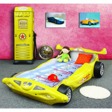 Inlea4Fun dětská postýlka Formule 1- žlutá Preview
