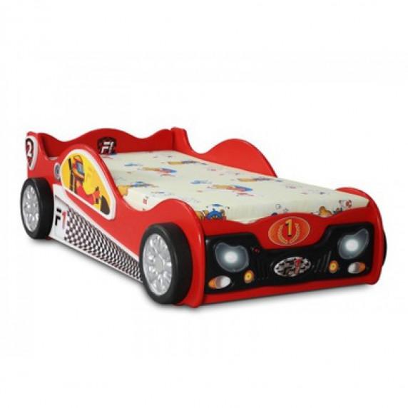 Dětská postýlka Monza Mini Inlea4Fun  - červená
