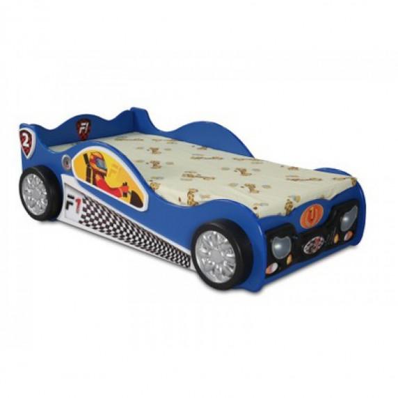 Dětská postýlka Monza Mini Inlea4Fun - modrá