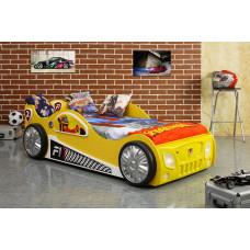 Inlea4Fun Dětská postýlka Monza - žlutá Preview