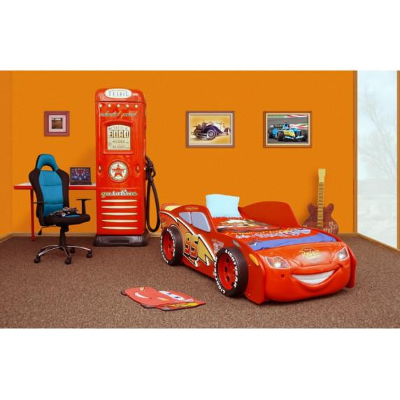 Inlea4Fun Dětská postel McQUEEN MDF