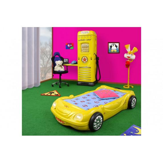 Dětská postýlka Inlea4Fun BOBO - Žlutá