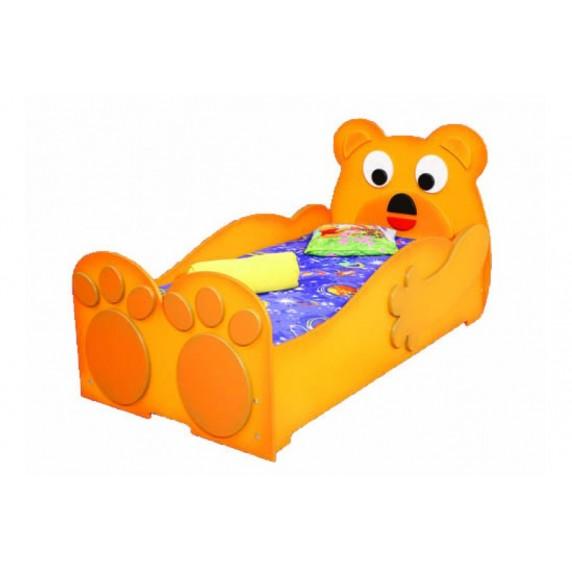 Inlea4Fun- Detská posteľ Medveď