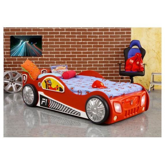 Dětská postýlka Monza Inlea4Fun - červená