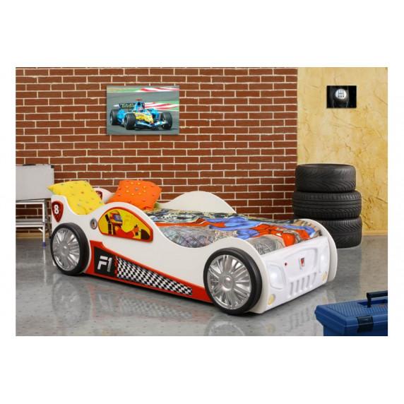 Dětská postýlka Monza Mini Inlea4Fun - bílá