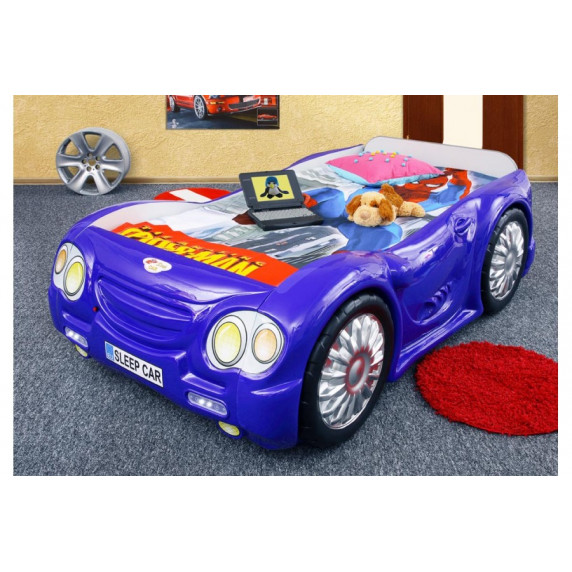 Dětská postýlka Sleepcar Inlea4Fun  - modrá
