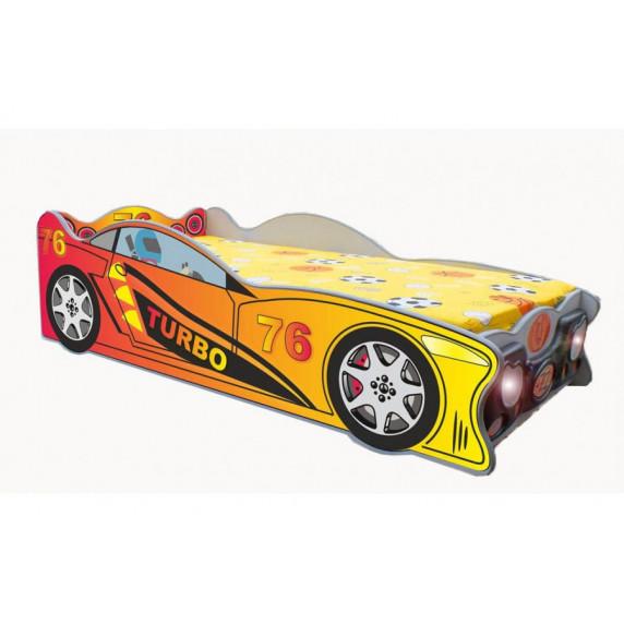 Dětská postýlka Speedy Inlea4Fun - velká červená