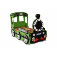 Dětská postýlka Lokomotiva Inlea4fun - Zelená