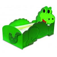 Inlea4Fun Dětská postýlka Dino - malá