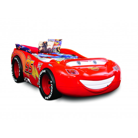 Dětská postýlka Inlea4fun McQueen ABS