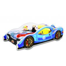 Dětská postel ve tvaru automobilu Inlea4Fun Minimax - Modrá Preview