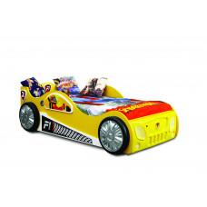 Dětská postýlka Inlea4Fun Monza - žlutá Preview