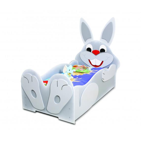 Dětská postýlka Inlea4Fun Zajíček - malá