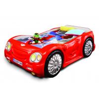 Dětská postýlka Sleepcar Inlea4Fun - červená