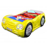 Dětská postýlka Sleepcar Inlea4Fun - žlutá