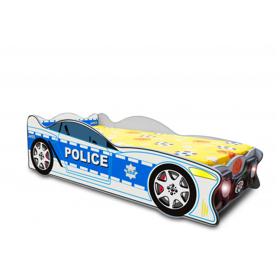 Dětská postýlka Speedy Inlea4Fun -velká modrá