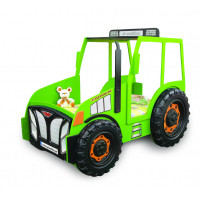Dětská postýlka Traktor Inlea4Fun - zelená